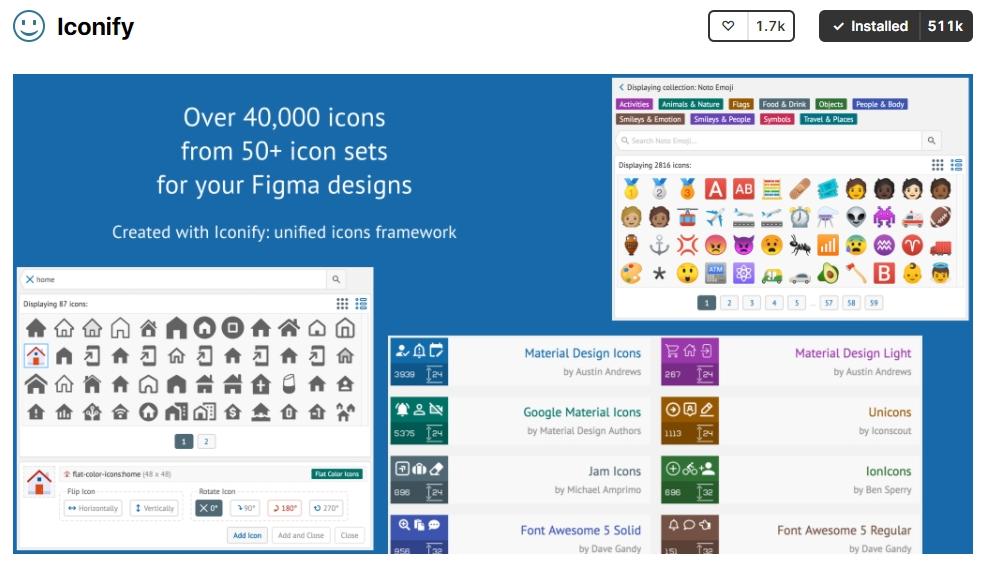 Iconify is the best figma plugin for figma wordspeed